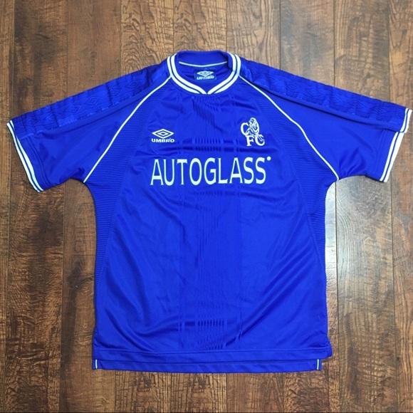 buy online 1ef5d 3854e Chelsea 99-01 Home Kit Umbro Jersey